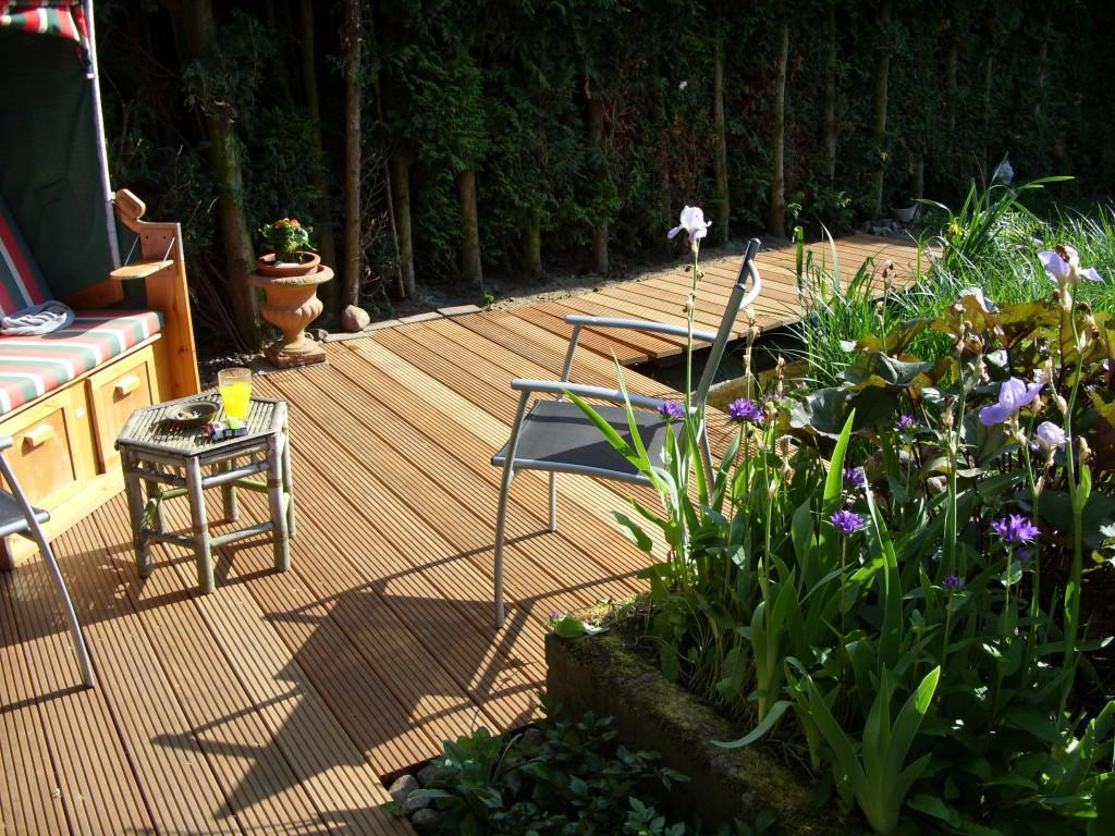 Terrasse aus Holz anlegen