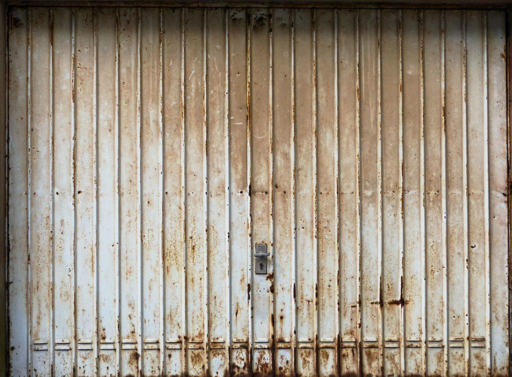 Garage neu streichen